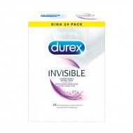 Durex Invisible Extra Lubricated N24